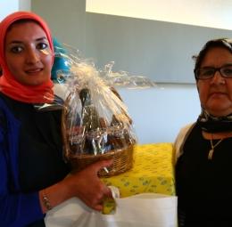 مسابقة زومبا / باربكيو : توزيع الهدايا
