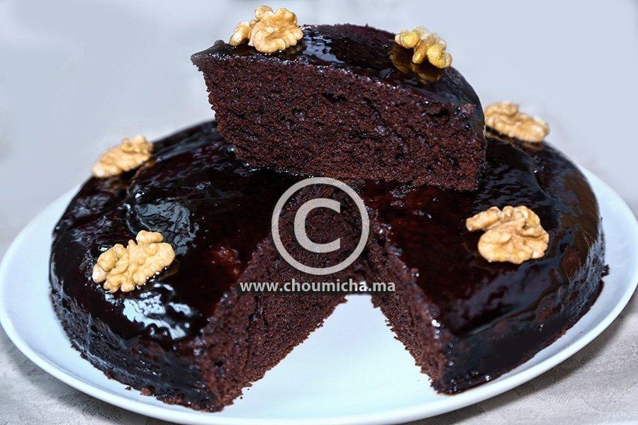 Recette cake au chocolat - Herve cuisine cake chocolat ...