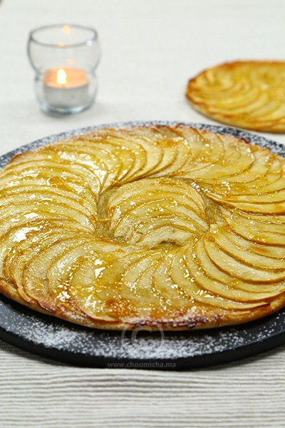recette tarte fine aux pommes. Black Bedroom Furniture Sets. Home Design Ideas