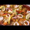 Paella au poulet et aux légumes