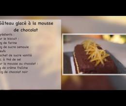 Recette facile et réussie de gâteau glacé à la mousse au chocolat