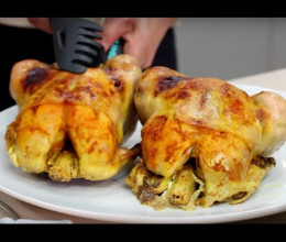 Poulet aux olives et sauce à l'oignon / Poulet Be D'Ghmira