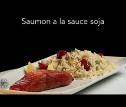 Saumon à la sauce Soja
