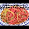 Salade de sucrine et poivrons à la Chermoula