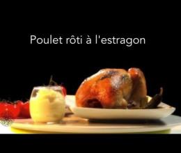 Poulet rôti à l'estragon