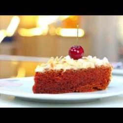Cake à la crème pâtissière