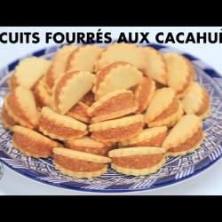 Ain we Hajeb - Biscuits fourrés aux cacahuètes