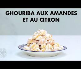 Ghouriba aux amandes et au citron
