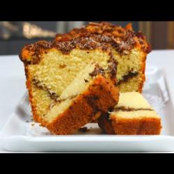 Cake au café et à la cannelle