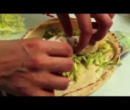 Sandwichs de poulet aux saveurs marocaines