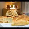 Pain aux olives et à l'ail / Pain au fromage et au paprika