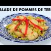 سلطة البطاطس بالزيتون والفلفل