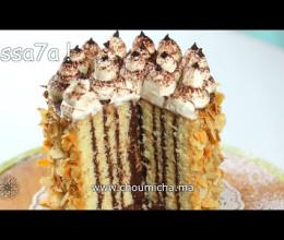 Gâteau au chocolat et au café