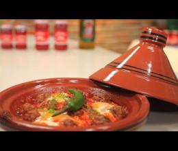 Tajine de viande hachée à la sauce tomate